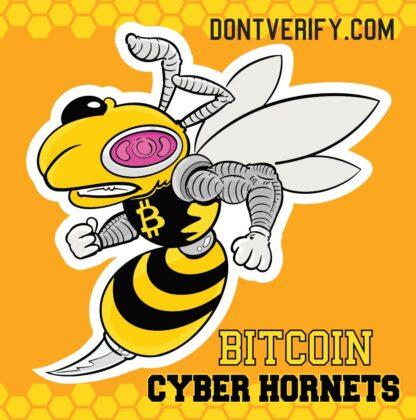 cyberhornet sticker